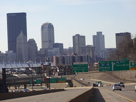 I-279 Pittsburgh (view from the North Hills).JPG