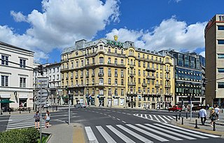 square in Warsaw
