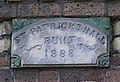 Plaque, St Patrick's Hall - geograph.org.uk - 1413250.jpg