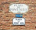 Plaque - Place du Pont Neuf (Toulouse).jpg