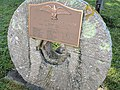 Plaque on millstone from Corwith mill 20180915 083407.jpg