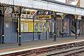 Platform furniture, Birkenhead Central railway station (geograph 4020407).jpg