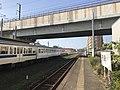 Platform of Doi Station (Kashii Line).jpg
