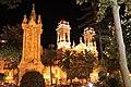 Plaza de África, Ceuta, de noche.jpg