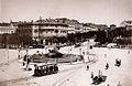 Plaza de Cibeles hacia 1890 - Hauser y Menet.jpg