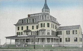 Newbury, Massachusetts - Plum Island Hotel c. 1910