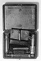 Pocket case with small mortar and pestle. Wellcome L0001595.jpg
