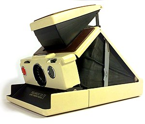 Polaroid Corporation - Polaroid SX-70 Land Camera model 2 instant camera, made in the USA circa 1972 to 1974