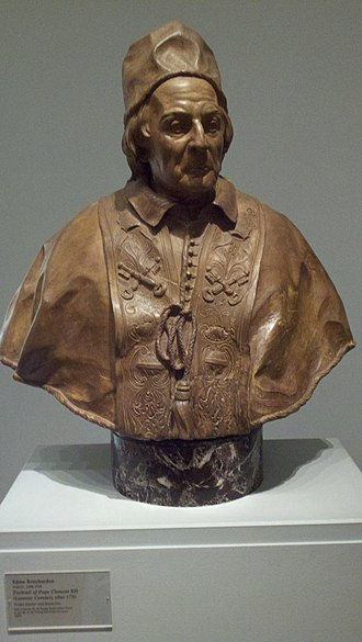 Pope Clement XII - Bust of Pope Clement XII by Edme Bouchardon