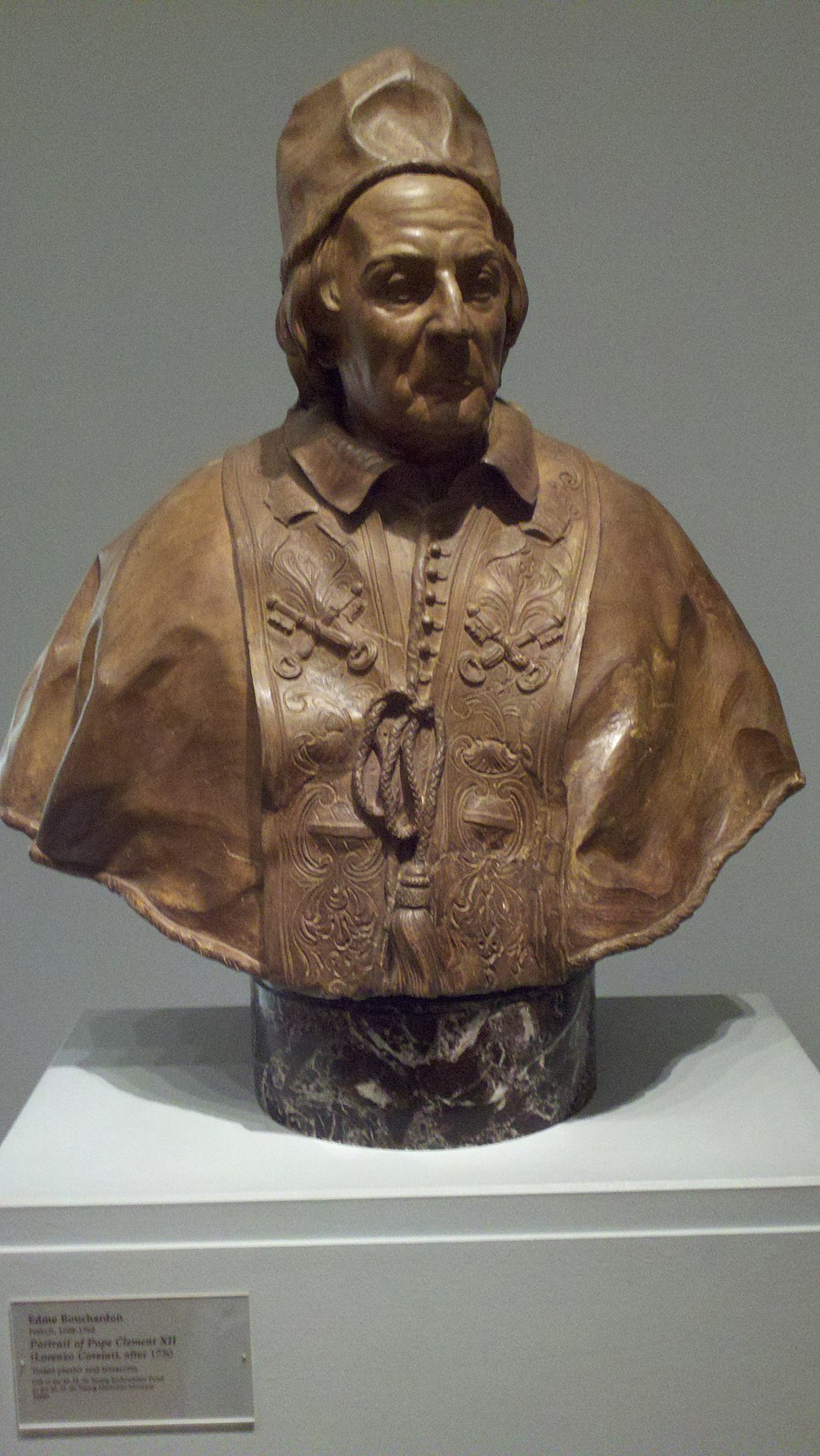 Pope Clement XII bust