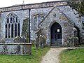 Porch, Church of St Mary the Virgin, Puddletown - geograph.org.uk - 1179056.jpg