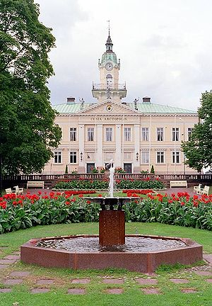 Pori - The old Town Hall of Pori