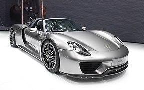 Porsche 918 Spyder IAA 2013 (Zuschnitt)