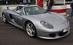 Porsche Carrera GT - Goodwood Breakfast Club (July 2008)