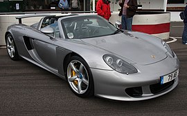 Porsche Carrera GT - Goodwood Breakfast Club (July 2008).jpg