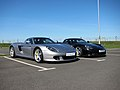 Porsche Carrera GT at PEC Silverstone (4550300479).jpg