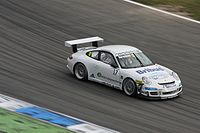 Porsche racing car at Hockenheim