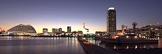 Port of Kobe - Kobe at twilight