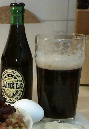 Porter (beer) - Carnegie Porter of Gothenburg, Sweden