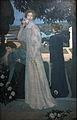 Portrait d Yvonne Lerolle en trois aspects-Maurice Denis-IMG 8185.JPG