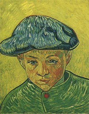 Paintings of Children (Van Gogh series) - Image: Portrait of Camille Roulin 1888 Vincent van Gogh