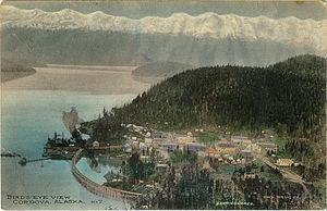 Cordova, Alaska - 1910 postcard of Cordova, Alaska.