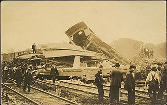New Haven Line - A 1911 wreck in Fairfield involving 4 trains