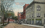 PostcardNewBritainCTMainStLookingEast1911