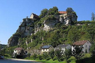 Pottenstein, Bavaria - Pottenstein Castle