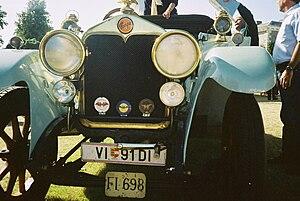Praga (company) - An army staff car, Praga Mignon