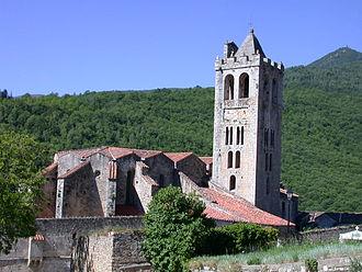 Prats-de-Mollo-la-Preste - The church of Saint-Juste-et-Sainte-Ruffine, in Prats-de-Mollo-la-Preste
