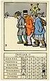 Prent van de Pallieter-kalender, januari 1927, Felix Timmermans, 1923, prent, Letterenhuis (Antwerpen) - tg lhpr 9145.jpg