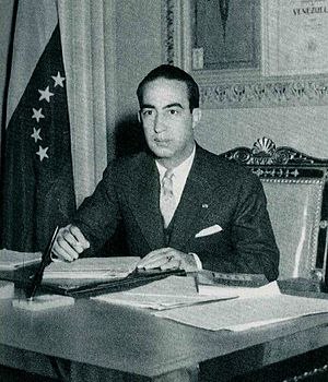 Germán Suárez Flamerich - Image: President Germán Suárez Flamerich