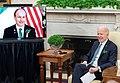 President Joe Biden hosts a bilateral meeting with Prime Minister Micheál Martin.jpg
