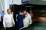 President Rodrigo Roa Duterte arrives at the 69th foundation anniversary of the Philippine Airforce.jpg