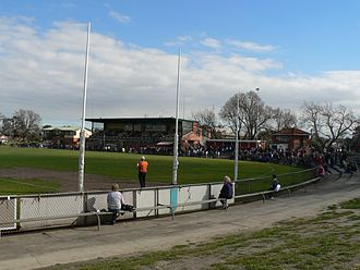 Northern Blues - Preston City Oval, traditional home to the Preston Bullants.