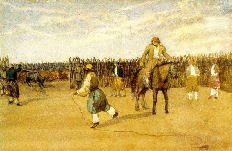 Pinturas do Argentino Prilidiano Pueyrredón