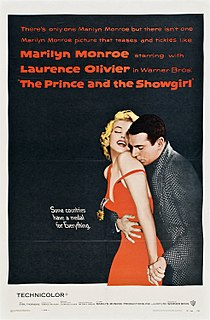 <i>The Prince and the Showgirl</i> 1957 film by Laurence Olivier