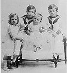 Princes Gustaf Adolf - Sigvard & Bertil & Princess Ingrid of Sweden (LOC).jpg