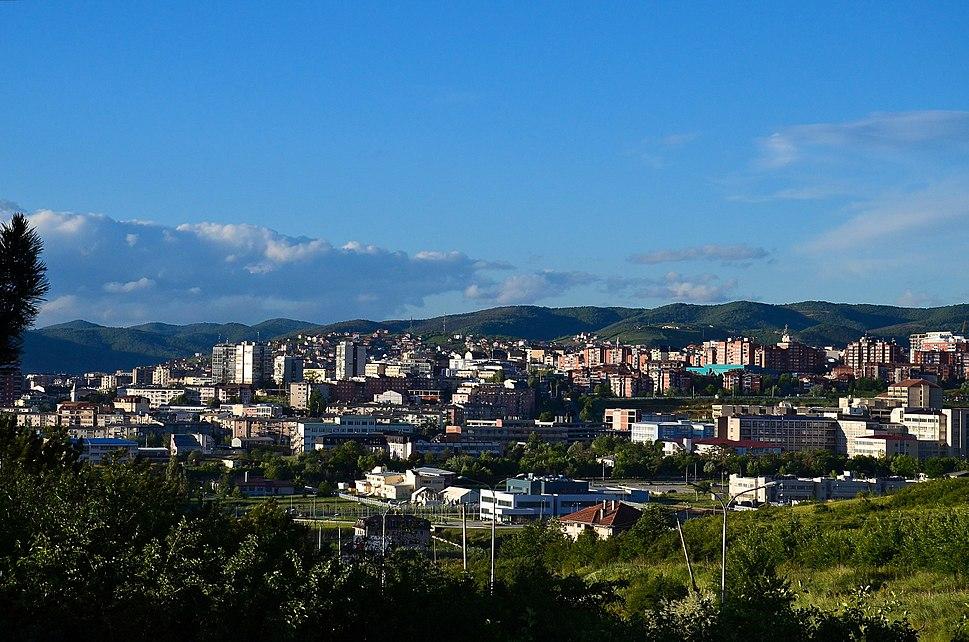 Prishtina the capital city of Kosova