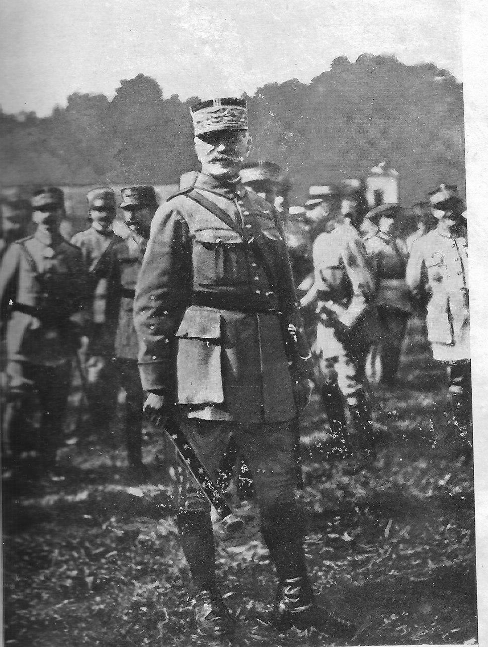 Promotion to Marechal Ferdinand Foch
