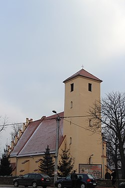 Pszenno Saint Nicholas church 2014 P01.JPG