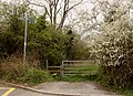Public footpath just off Greensted Road - geograph.org.uk - 775362.jpg