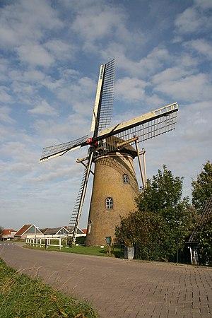 Puttershoek - Wind mill De Lelie