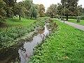 Pymme's Brook in Oak Hill Park.JPG