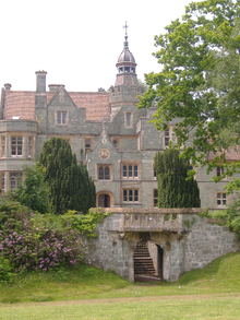 Quantock Lodge, front of the main building