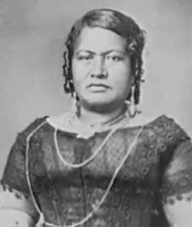 Queen consort of the Kingdom of Hawaiʻi and spouse of King Kamehameha III, the third ruler of the Kingdom of Hawaii