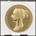 Queen Victoria Coronation Medal MET DP100447.jpg