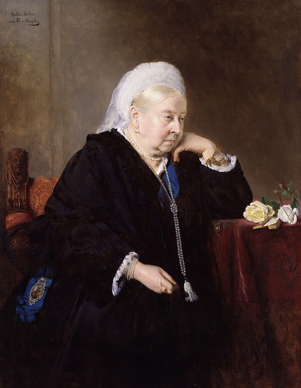 Queen Victoria after Heinrich von Angeli