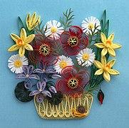 Paperolles wikip dia for Bouquet de fleurs wiki